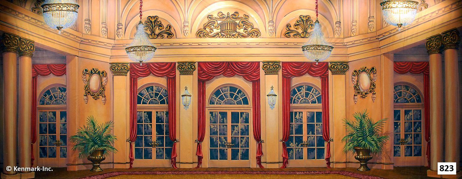 823d Elegant Ballroom Windows In 2019 House Styles