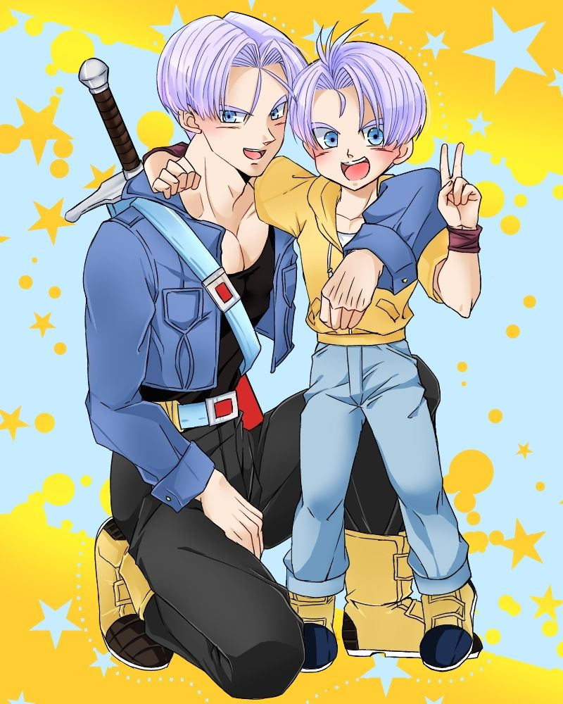 Future Trunks And Kid Trunks Sooo Cute!