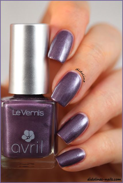 #Avril #nails #nailpolish #fig #pearly www.avril-beaute.fr/