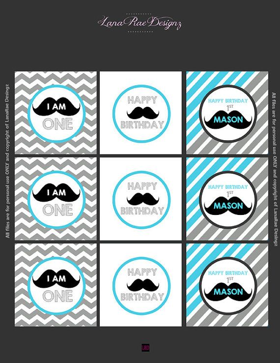 Hey, I found this really awesome Etsy listing at https://www.etsy.com/listing/197099479/custom-mustache-birthday-cupcake-toppers
