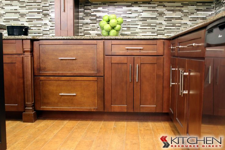 Best Sleek Transitional Style Kitchen Warm Wood Finish Love 400 x 300