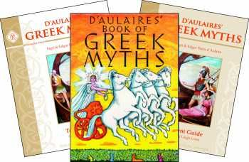 D'Aulaires' Greek Myths Set   My Favorite Study Guides   Curriculum ...