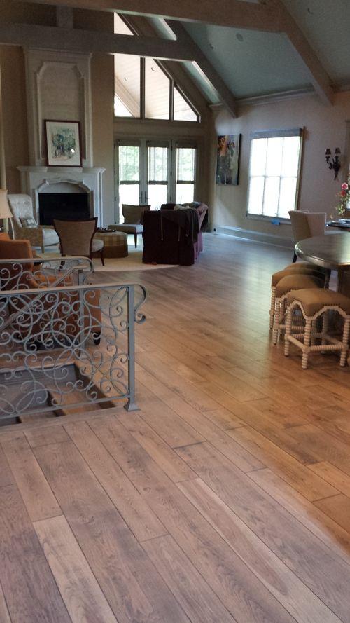 Modern 2 Stage Grey Wood Floor Modern Wood Floors Pinterest