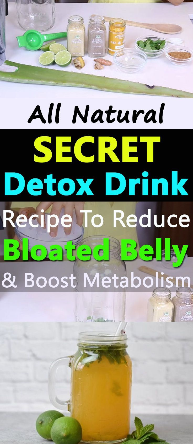 Prepare yourself for a drink that fight belly bloat while