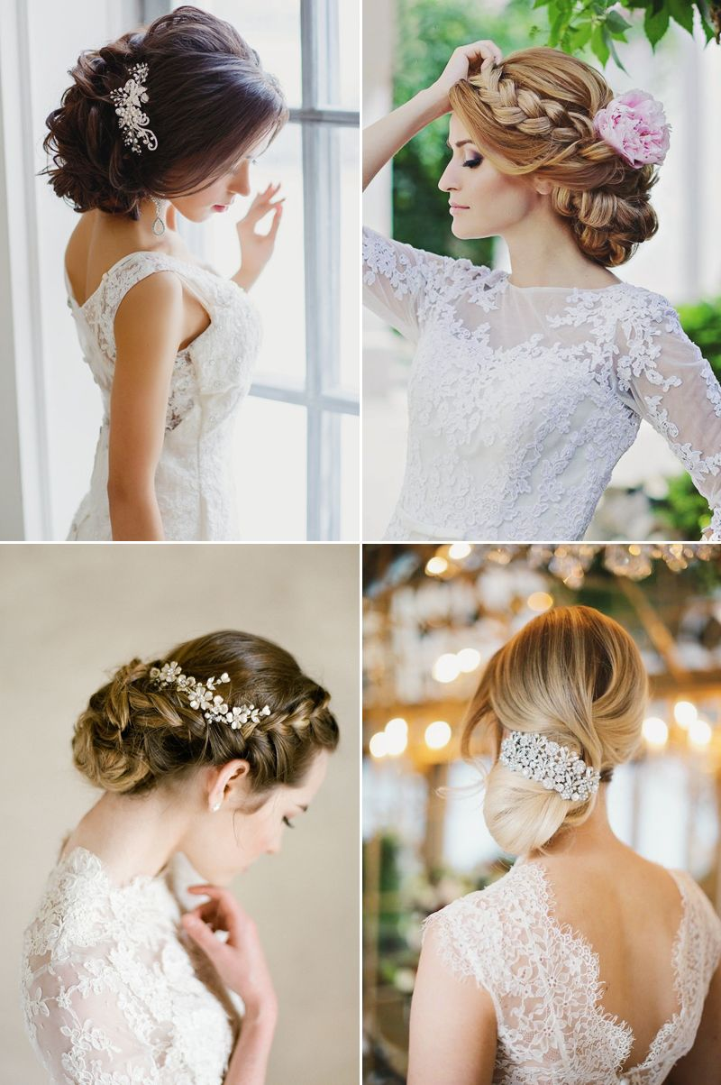 16 Celebrity-Like Glamorous Wedding Updos For the Fashion-Forward ...