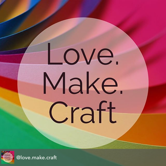 Follow our craft sharing account on Instagram and we will share your handmade goods!