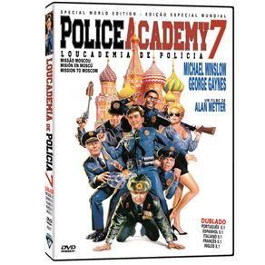 DVD - Loucademia de Polícia 7 - Police Academy 7: Mission Moscow