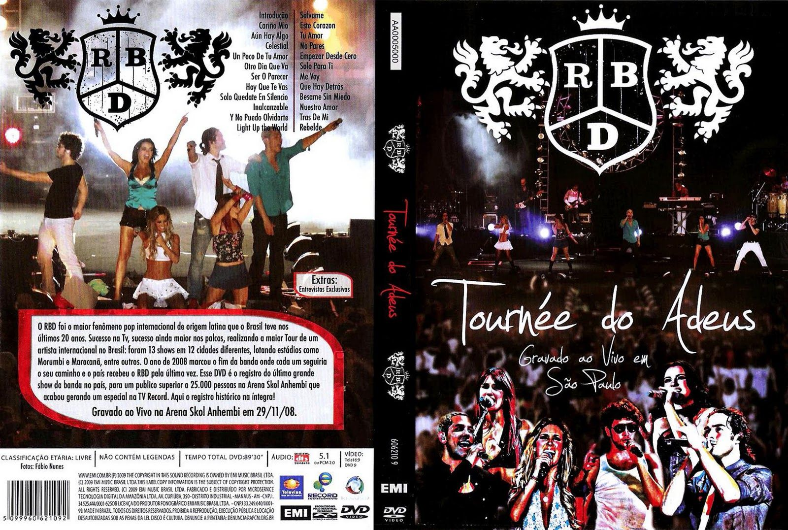 Dvd S Rebelde Mexicano Novelas Dvd