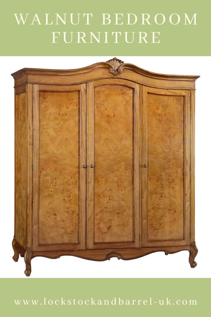 Walnut Bedroom Furniture Lock Stock & Barrel Furniture