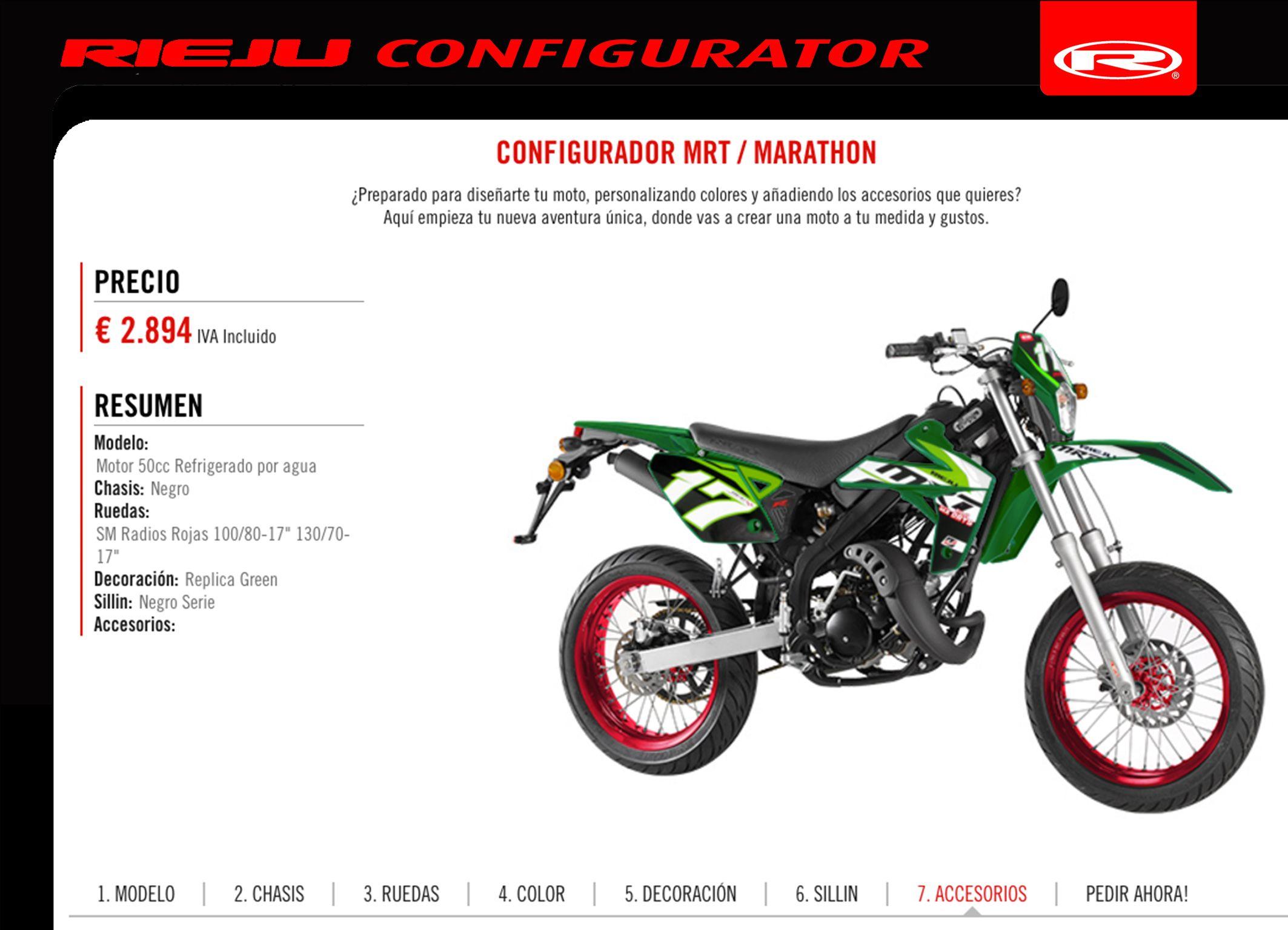 Disena Tu Moto A Medida Con El Configurador Rieju Il Dessine Ta Moto Sur Mesure Avec Le Configurateur Rieju Http Blog Rieju Es With Images Motorcycle