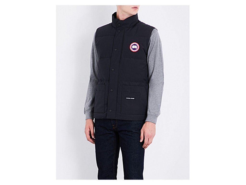 Canada Goose Freestyle Crew Padded Shell Gilet Canada Goose Tops Designs Mens Designer Fashion