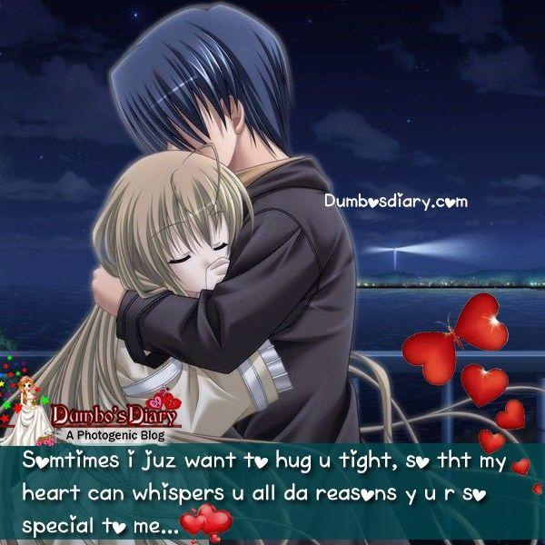 To u want hug i just