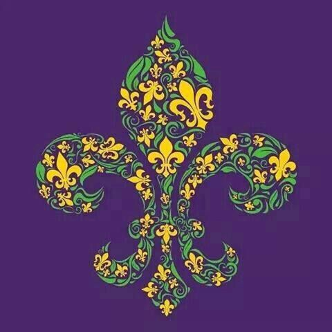 Fleur De Lis Louisiana Art Wallpaper Cute Wallpapers