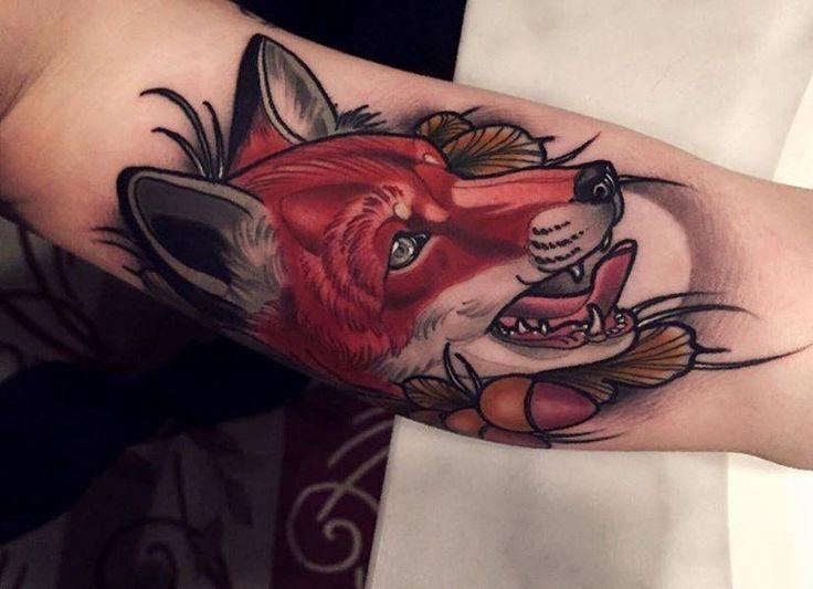 1119a92690b8006346caa252c43e89fc Jpg 736 533 Pixels Fox Tattoo Tattoos Animal Tattoos