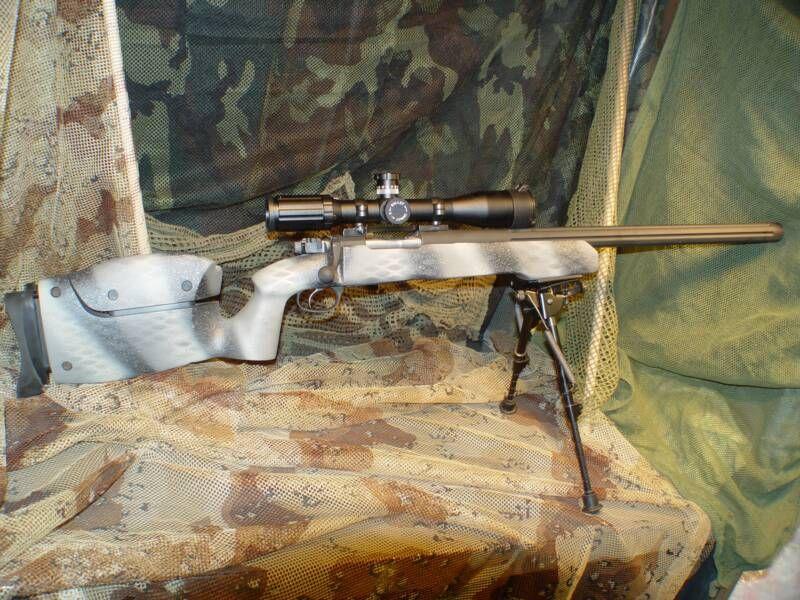 Custom Mauser Urban Sniper in Urban SpecFlage