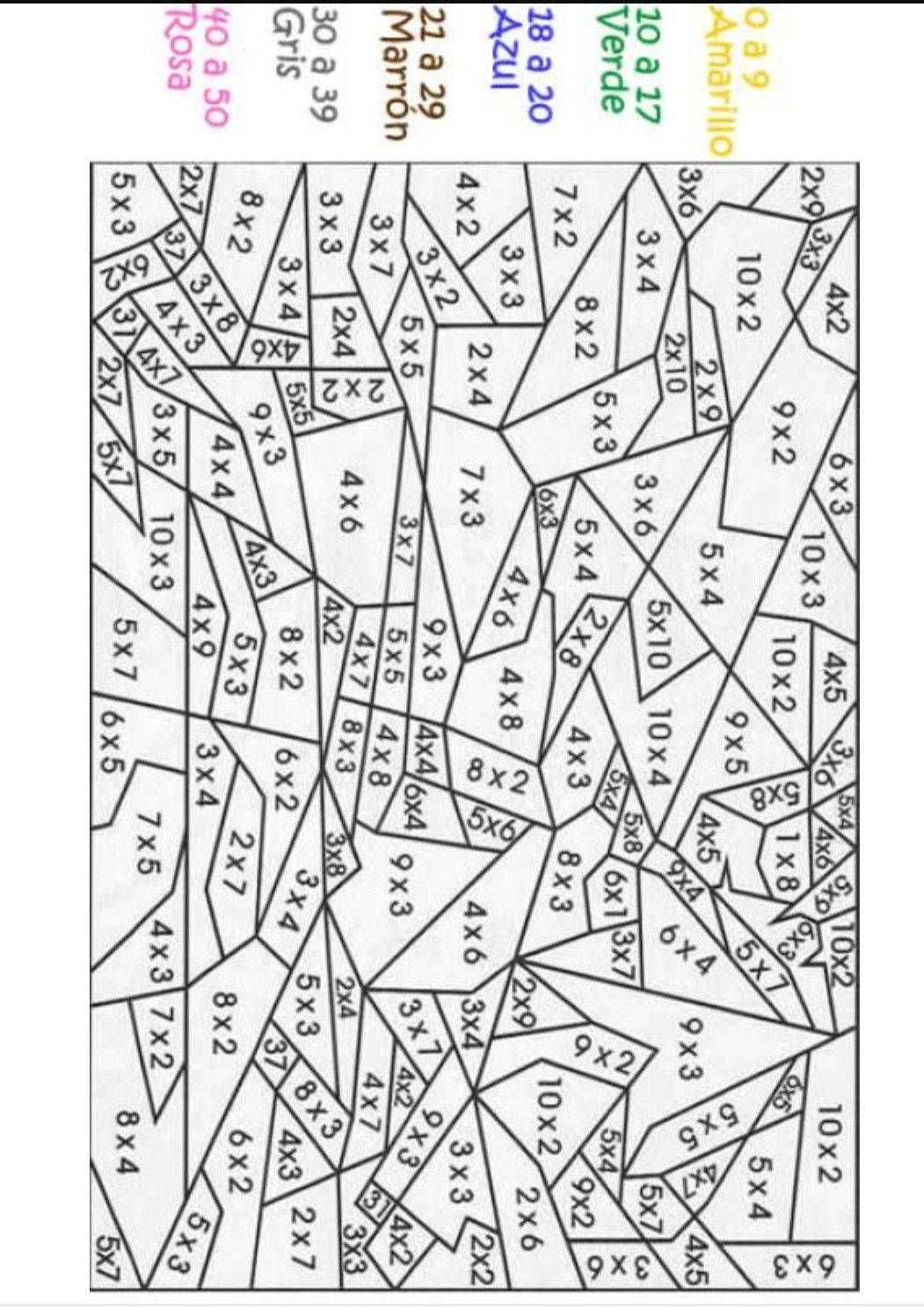 Pin By Amparo Polo On Dibujos Con Numeros Math Coloring Homeschool Math Elementary Math [ 1496 x 1051 Pixel ]
