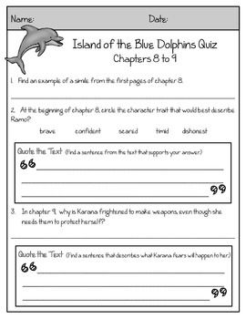 Island of the Blue Dolphins Novel Guide | Dolphins, 6th ...