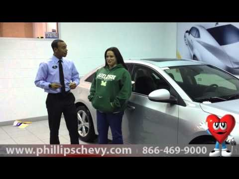 Chevy Cruze Customer Review From Phillips Chevrolet New Car - Phillips chevy car show