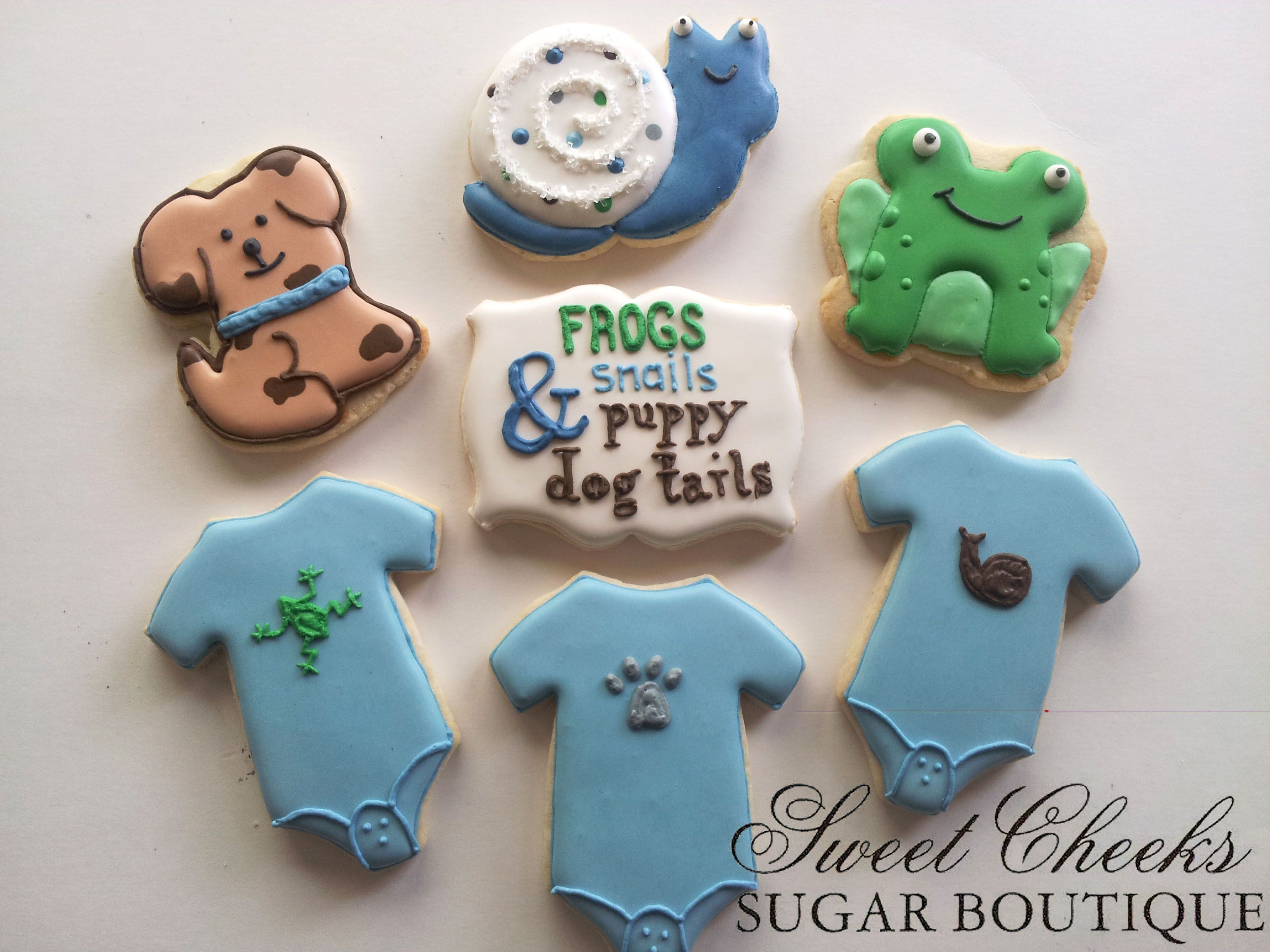 An Adorable What Little Boys Are Made Of Baby Shower