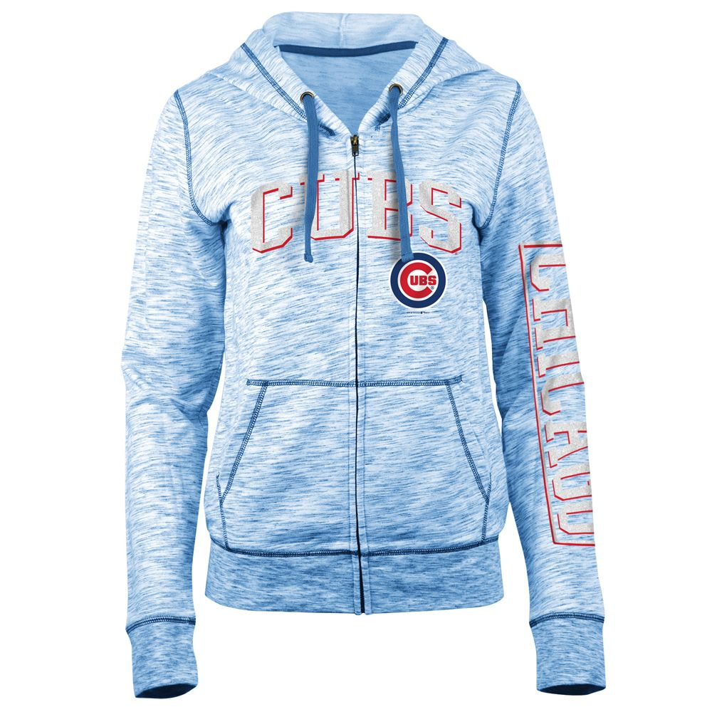 Chicago Cubs Women S Space Dye French Terry Full Zip Hoodie Chicagocubs Cubs Flythew Mlb Thatscub Hooded Sweatshirts Chicago Cubs Hoodie Sweatshirts [ 1000 x 1000 Pixel ]