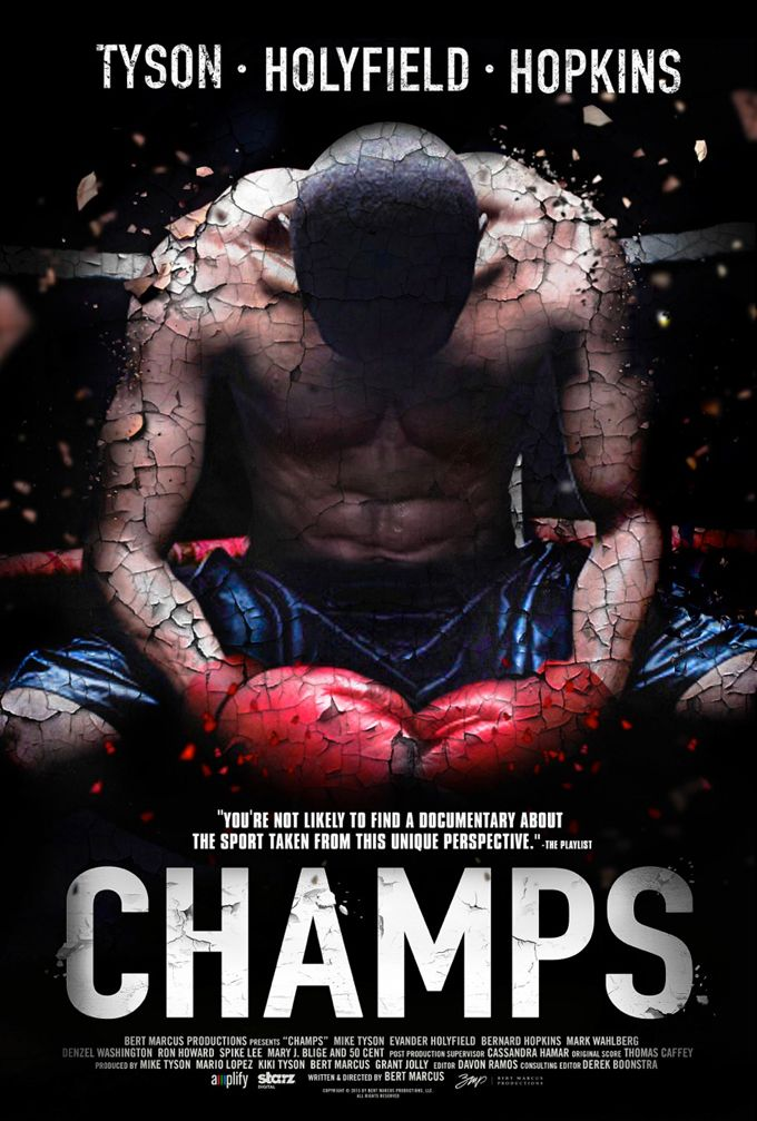 Champs Featuring Mike Tyson Evander Holyfield Bernard Hopkins In Select Theaters March 13 2015 Peliculas Audio Latino Online Peliculas Mike Tyson