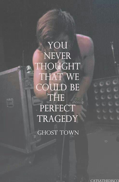 Band, Ghost Town | Ghost Town | Ghost town lyrics, Ghost ...