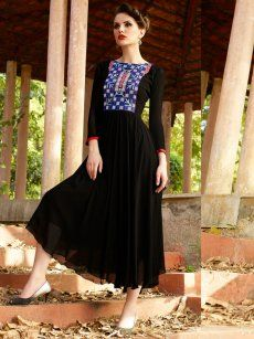 fd89fc9f56 Buy Designer Party Wear Kurtis Online - Cilory | dresses | Party ...