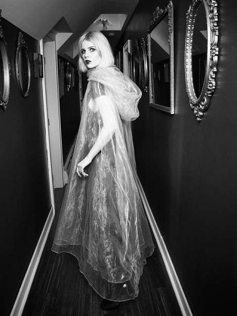 7 Gothic Looks Modeled By Actress Lucy Boynton