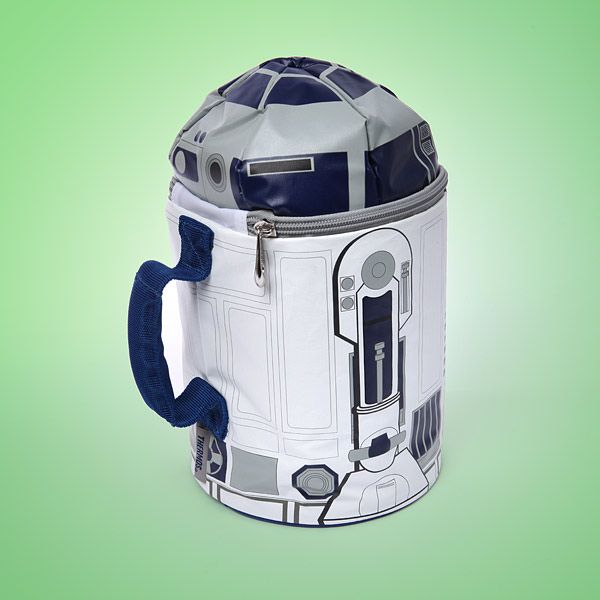 Thinkgeek Star Wars R2d2 Lunch Bag With Sound Calvin Needs This