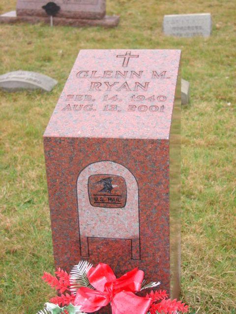 Glenn M. Ryan (1940 - 2001) Postal Employee.