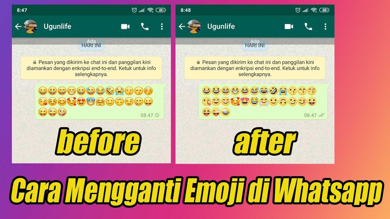 Cara Mengganti Emoji Di Whatsapp Biar Tampilannya Menjadi Lebih Keren Pesan