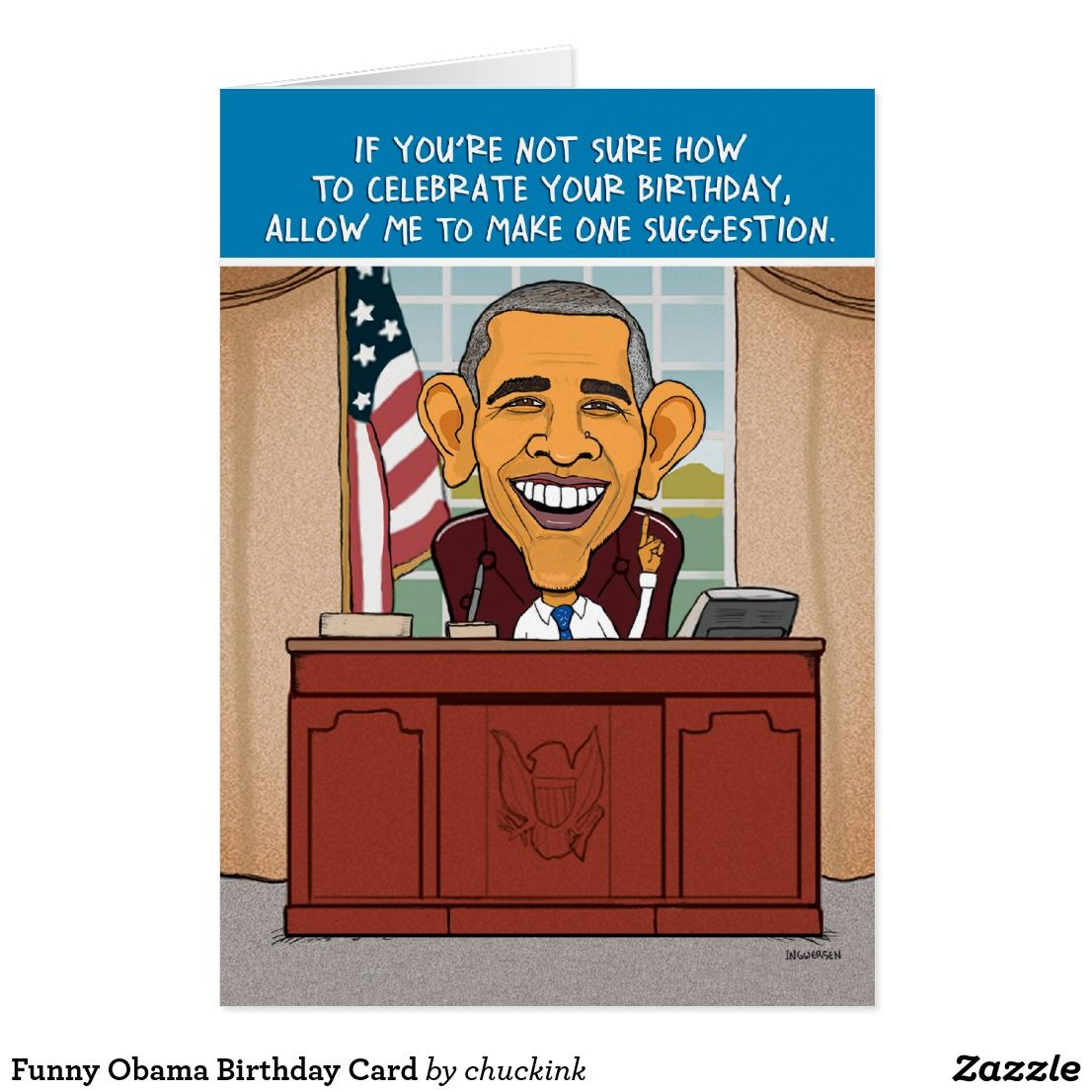 Funny obama birthday card funny greeting cards pinterest obama funny obama birthday card kristyandbryce Choice Image