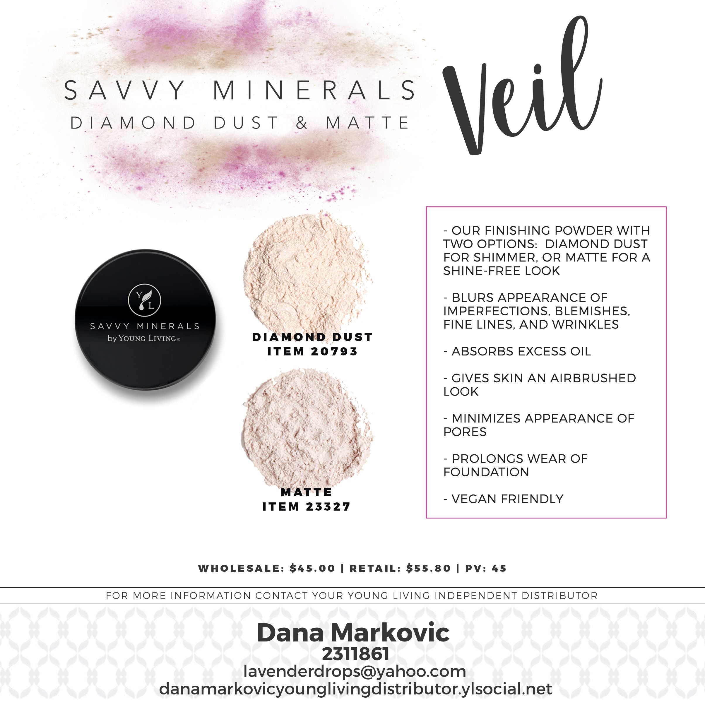 Pin by Djana Kozo Markovic on YL oils Savvy minerals