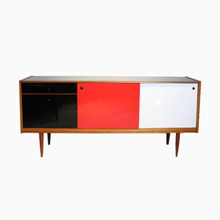 Französisches Teak Sideboard, 1960er Jetzt Bestellen Unter:  Https://moebel.ladendirekt