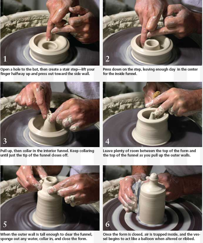 How To Make A Stopperless Salt And Pepper Shaker On The Pottery Wheel Ceramic Arts Network Ceramic Arts Daily Pottery Ceramics