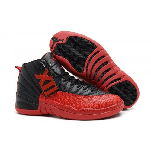 de392b93f0b Discount Air Jordan 12 Retro Flu Game Black/Varsity Red Basketball Shoes -  ibasketballwear.com