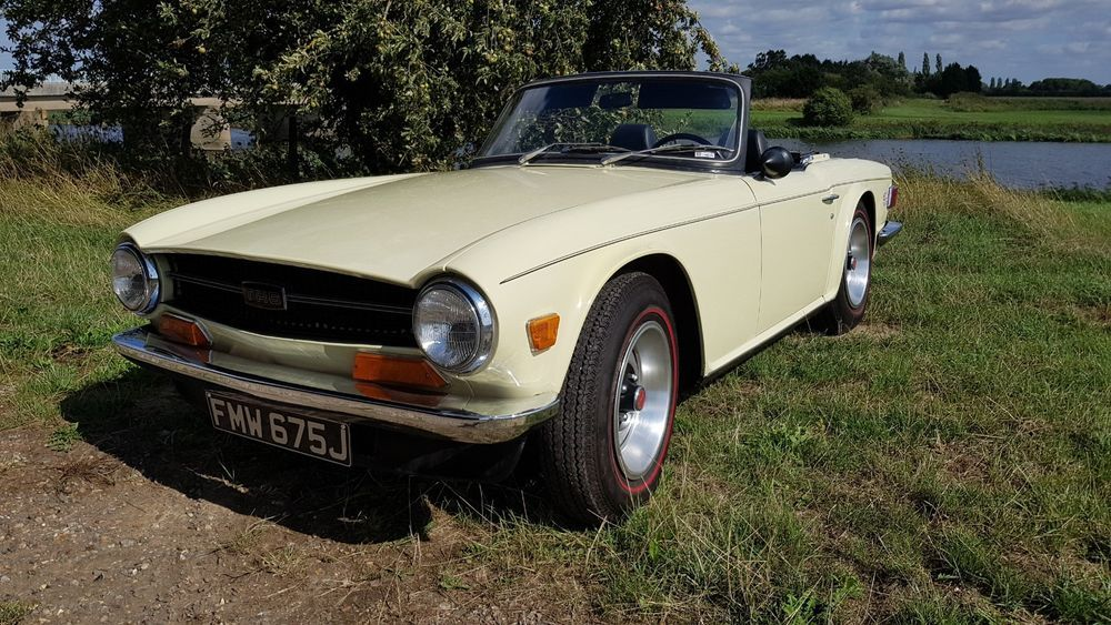 Ebay Triumph Tr6 Lhd Jasmine Drives Great Uk Registered Moted And Taxed Classiccars Cars Cars Uk Triumph Tr6 Lovely Car