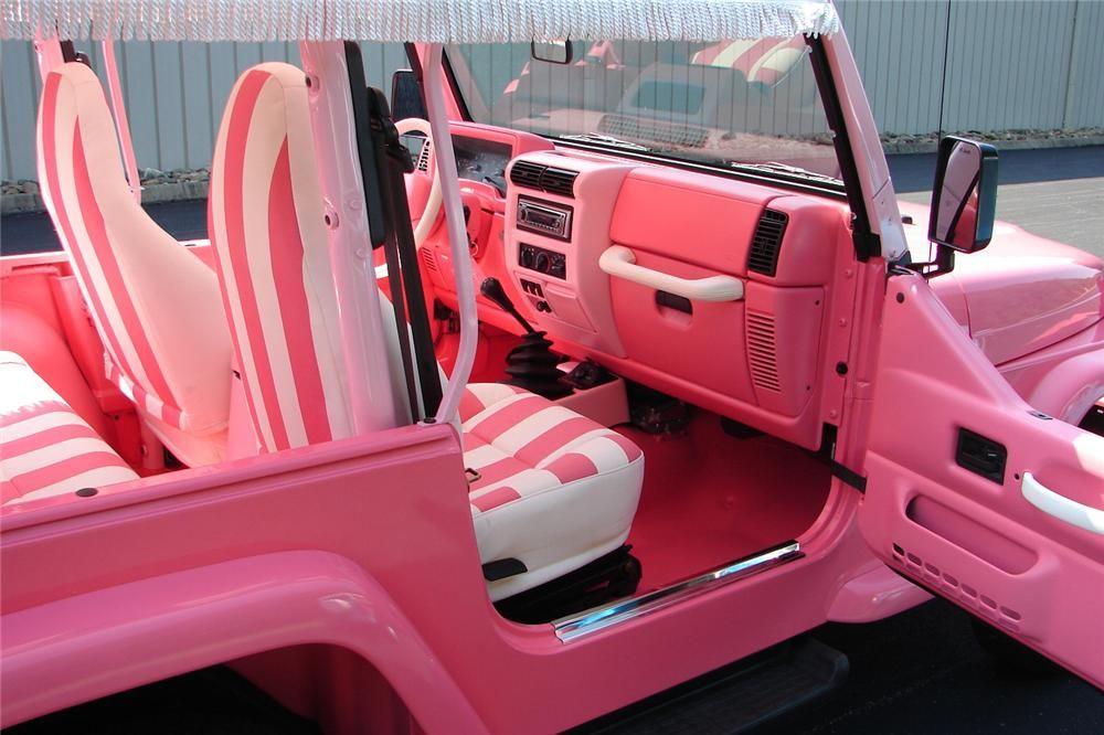 Item Barrett Jackson Auction Company 2000 Jeep Wrangler Jeep Wrangler Interior Jeep Wrangler