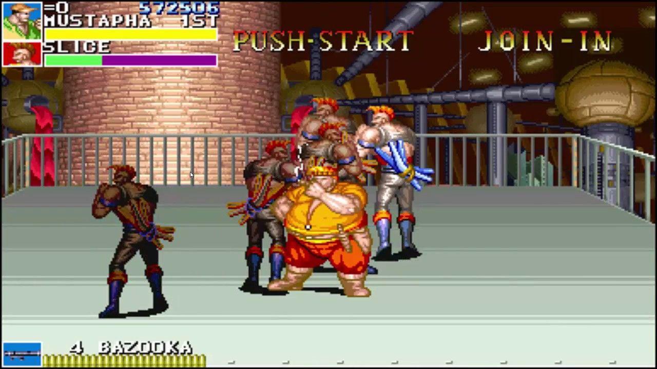 Cadillacs and Dinosaurs Arcade - Mustapha Video Games - Jack's Garage - Slice - Episode 4