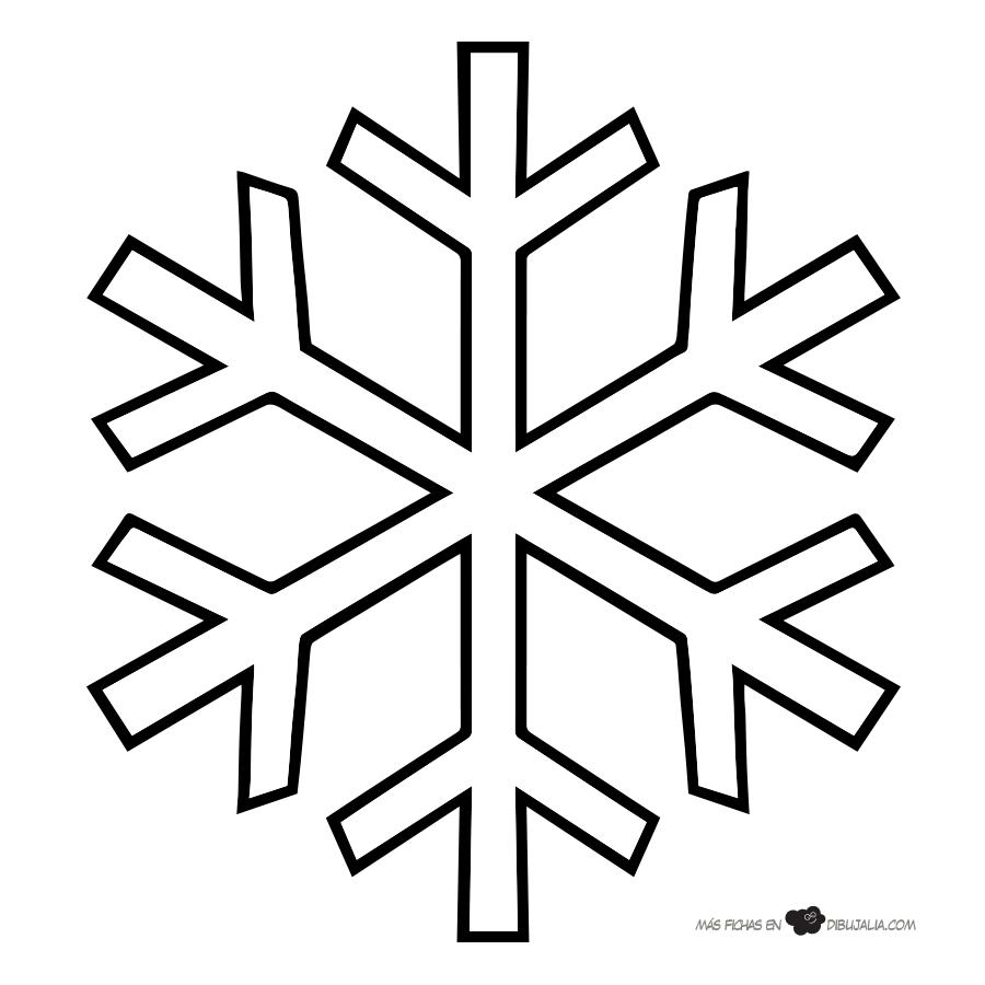Cómo hacer una guirnalda de copos de nieve en 5 pasos | Pinterest ...