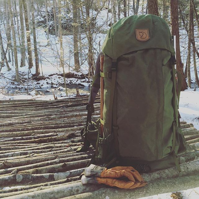 this-old-stomping-ground:  Couldn't be happier with this pack, Fjällräven Kaipak 58 #fjallraven #backpack #bushcraft #woodsman @fjallravencanada @fjallravenusa #hestra #friluftsliv #skog
