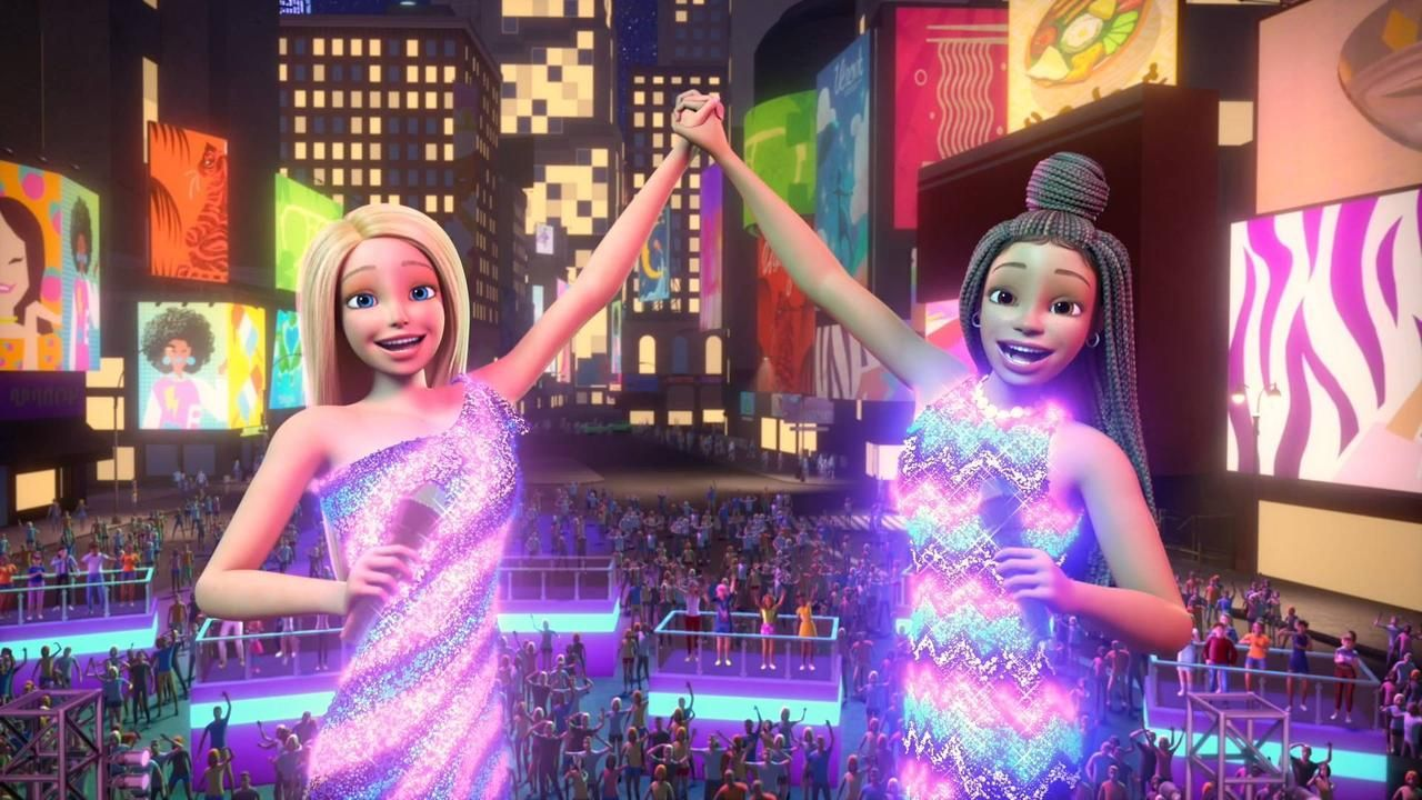 Different Spoiler In Barbie Big City Big Dreams In 2021 Barbie Images Barbie Mickey Mouse And Friends