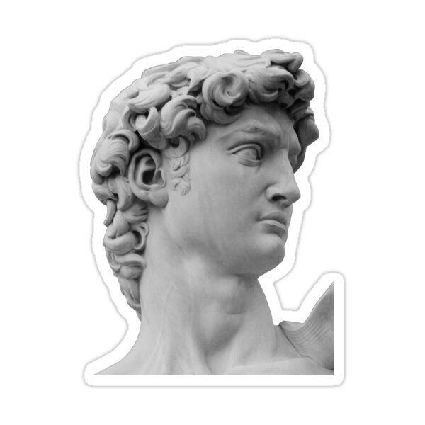 David - Michelangelo Sticker by observation