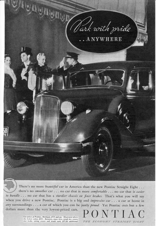 1934 Pontiac Ad 2   Old Pontiacs and Buicks   Pinterest   Cars