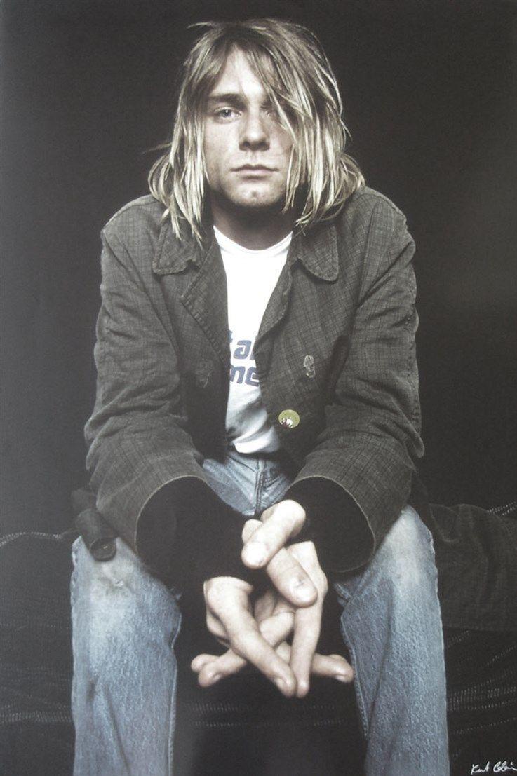 Kurt Cobain Style, Classic Grunge Fashion, 90s Style Icon, Nirvana retro grunge