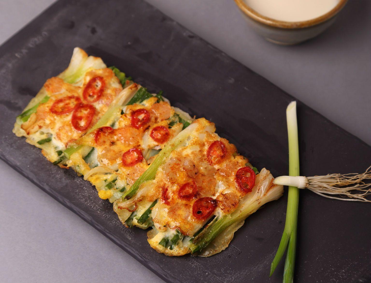Haemul pajeon  (galette aux fruits de mer)