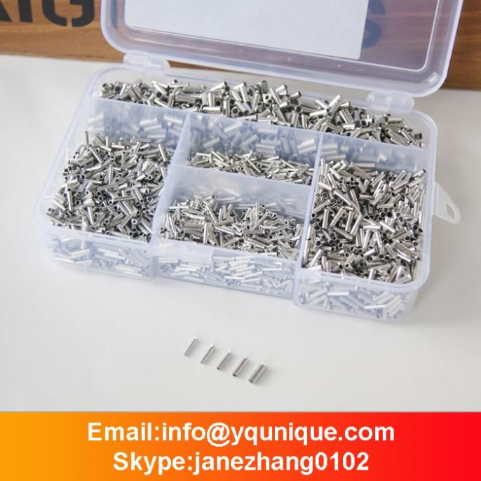 5000pcs Bootlace Ferrule Kit 0.5-2.5mm Non Insulated Terminal ...