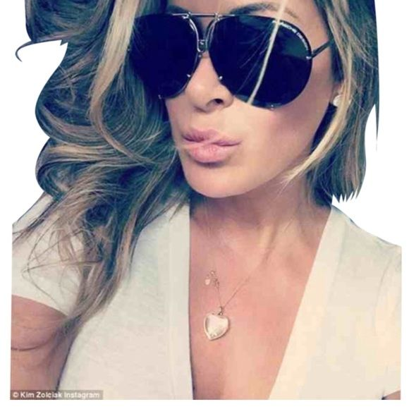 5a6f3f198ce Porsche Design Aviator Sunglasses % AUTHENTIC ‼ NWT!!! As seen on Kim Z  from Housewives and Kylie from KUWTK (not exact shade color as pic 1 or 4).
