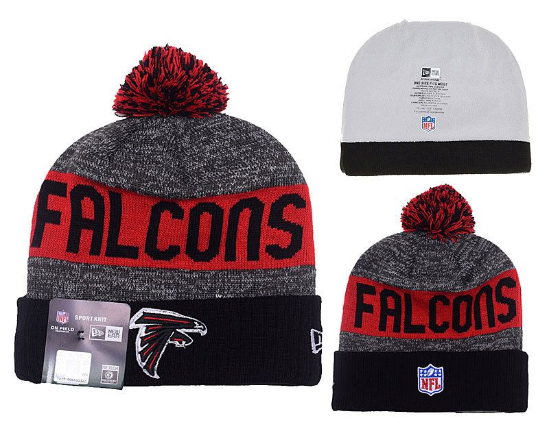 3260683fe2641 NFL Atlanta Falcons New Era Beanies Sports Knitted Caps Hats ...