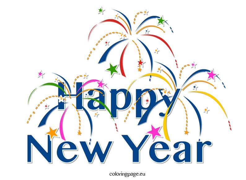 Happy New Year Clip Art Happy new year love, Happy new